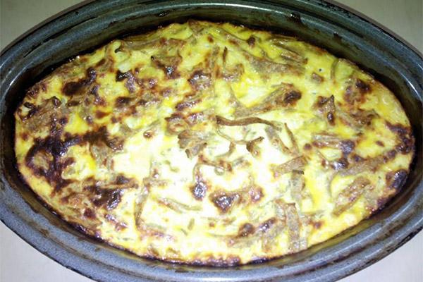Posni sir sa integralnom tjesteninom (pir) i jajima